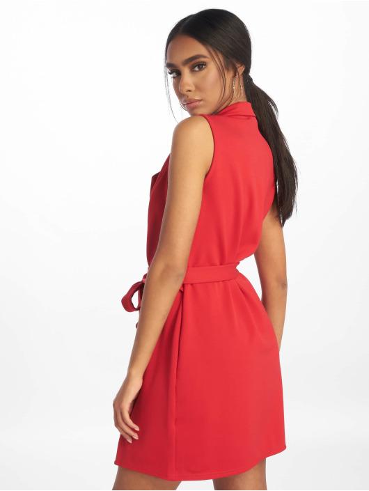 Missguided Robe Sleeveless Blazer rouge