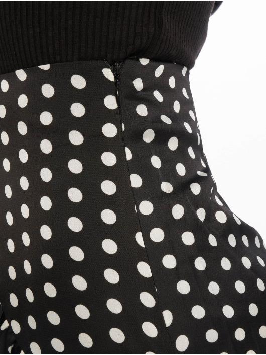 Missguided Rock Polka Dot Frill schwarz