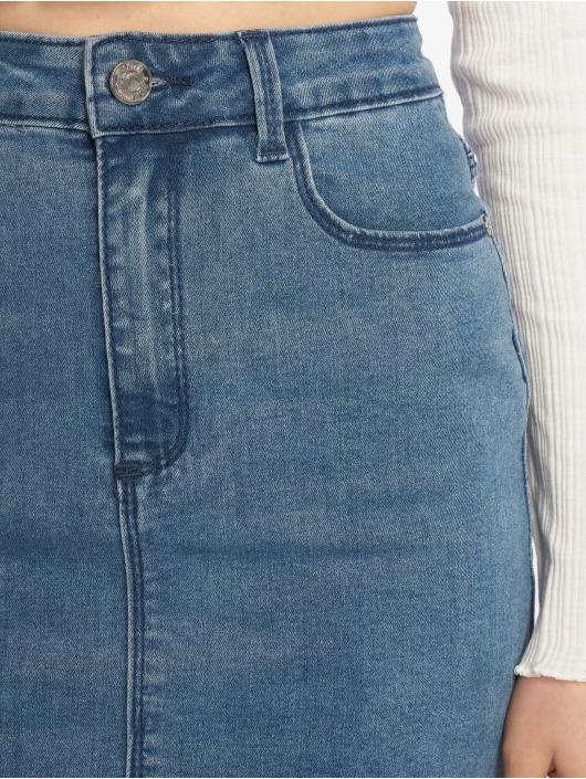 Missguided Rok Super Stretch Denim Mini blauw