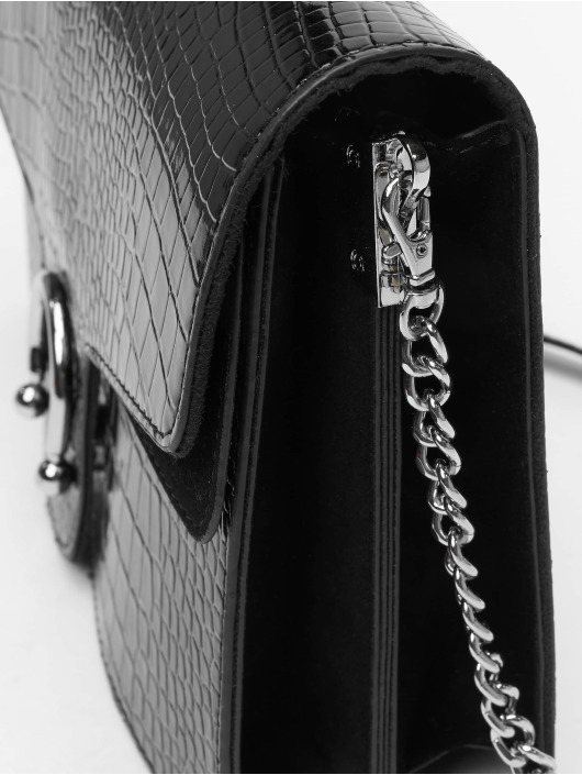 Missguided Sac Croc Detail noir