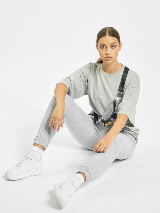 Missguided Sety T-Shirt Jogger šedá