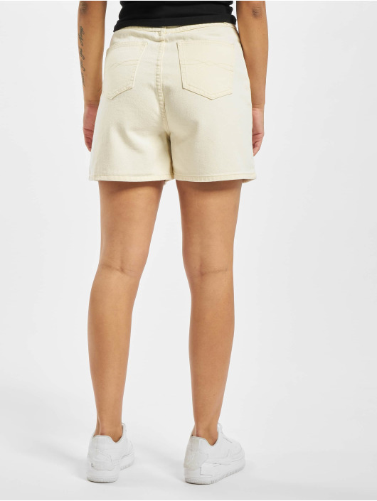 Missguided Short Button Up white
