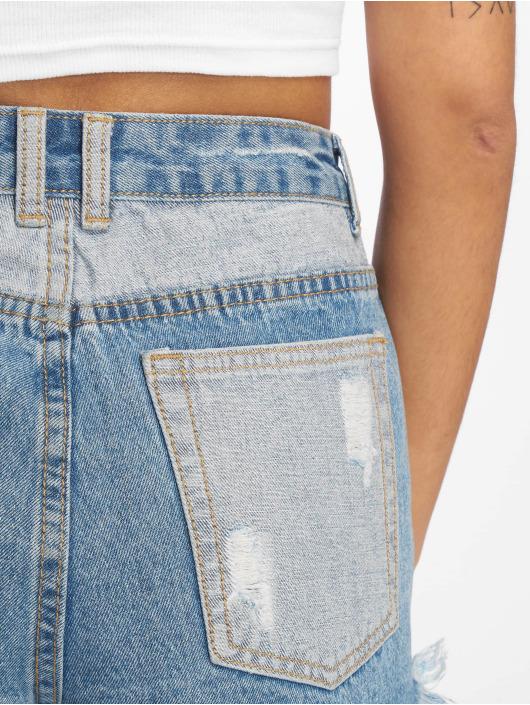 Missguided Shorts Sinner Contrast blau