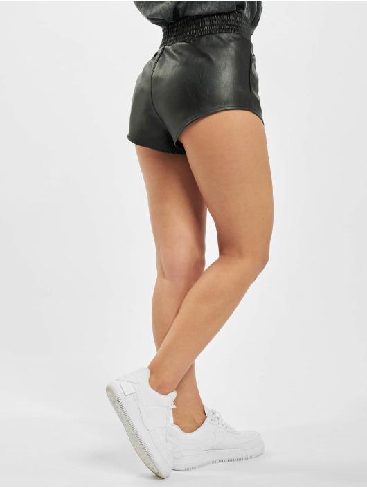 Missguided Shorts Deep Elasticated Waist Band Runner nero