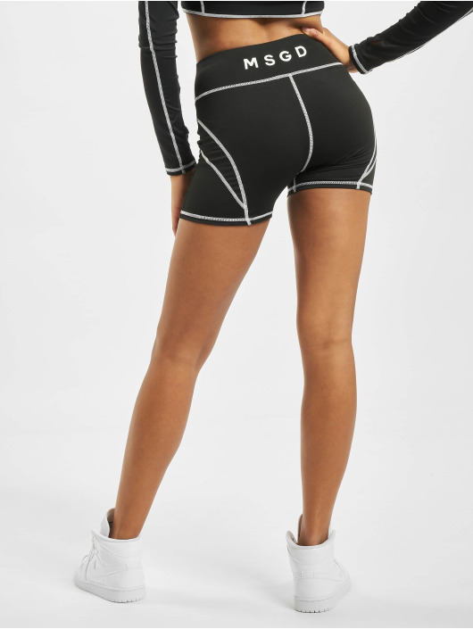Missguided Shorts Panel Cycling schwarz