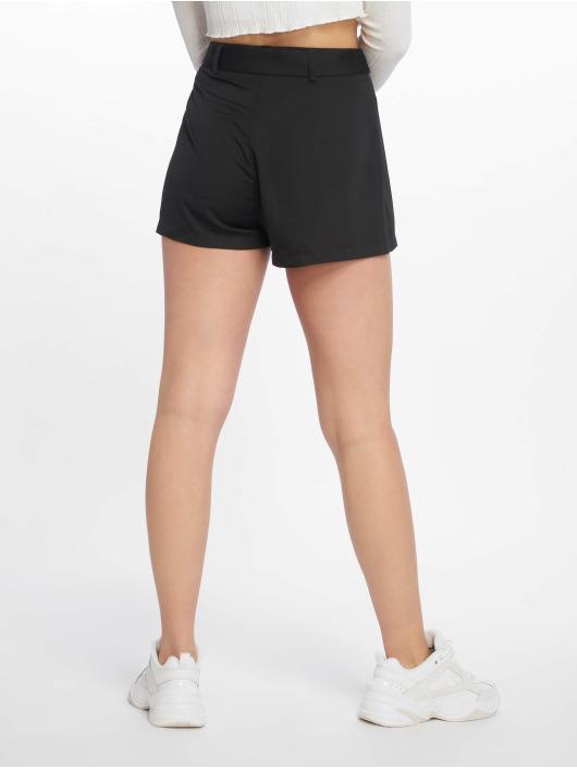 Missguided Shorts Tie Waist Detail Crepe svart