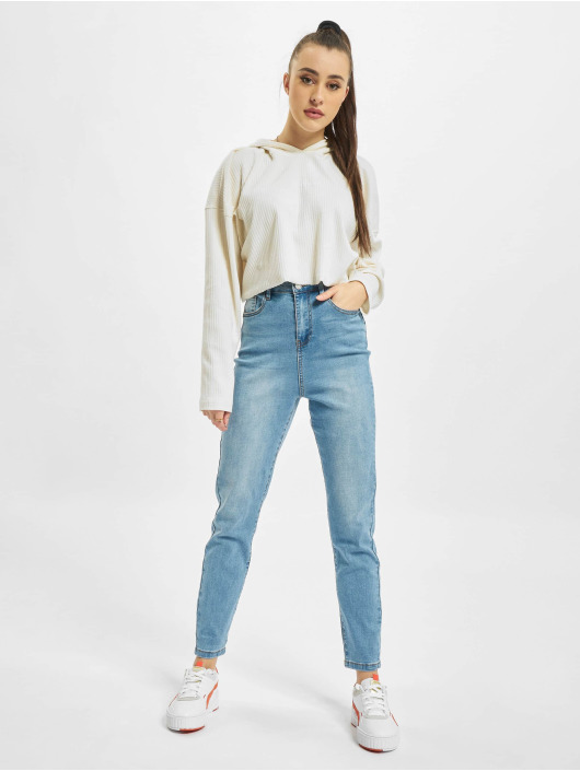 Missguided Skinny jeans Assets Side Seam Detail Sinner blå