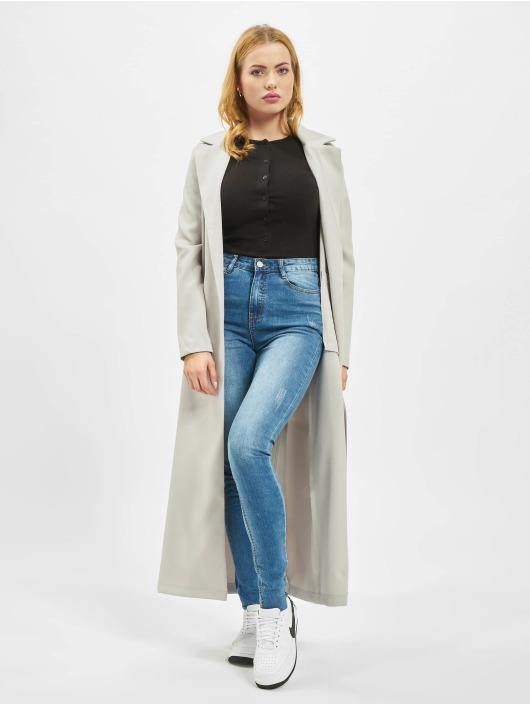 Missguided Skinny Jeans Tall Sinner Clean Distress niebieski