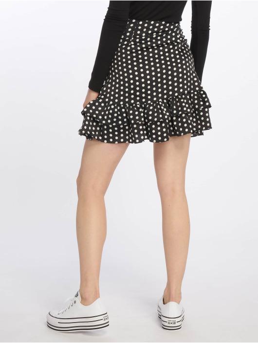 Missguided Skirt Polka Dot Frill black