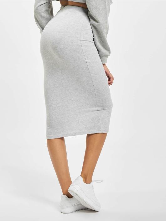 Missguided Skirt Drawstring gray