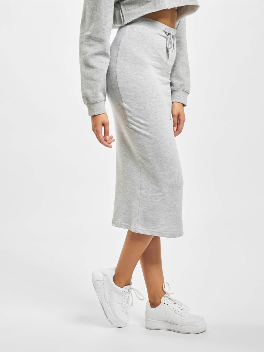 Missguided Skirt Drawstring grey