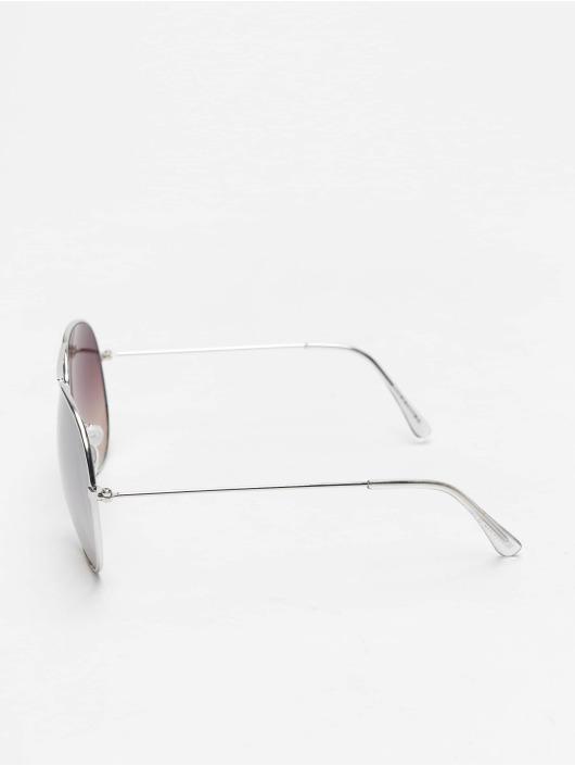 Missguided Sonnenbrille Glam Aviator silberfarben