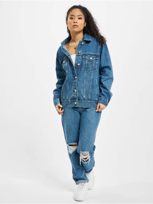 Missguided Spijkerjasjes Oversized blauw