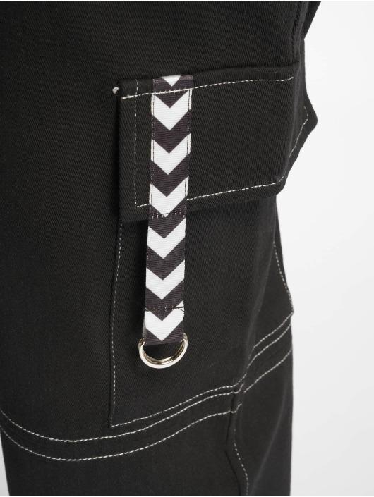 Missguided Spodnie Chino/Cargo Mono Sports Tape Cargo czarny