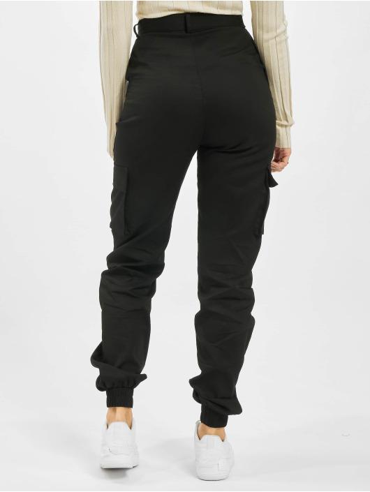 Missguided Spodnie Chino/Cargo Tall Plain czarny