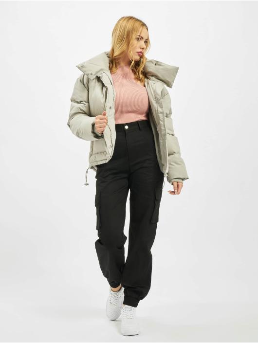 Missguided Spodnie Chino/Cargo Petite Plain czarny