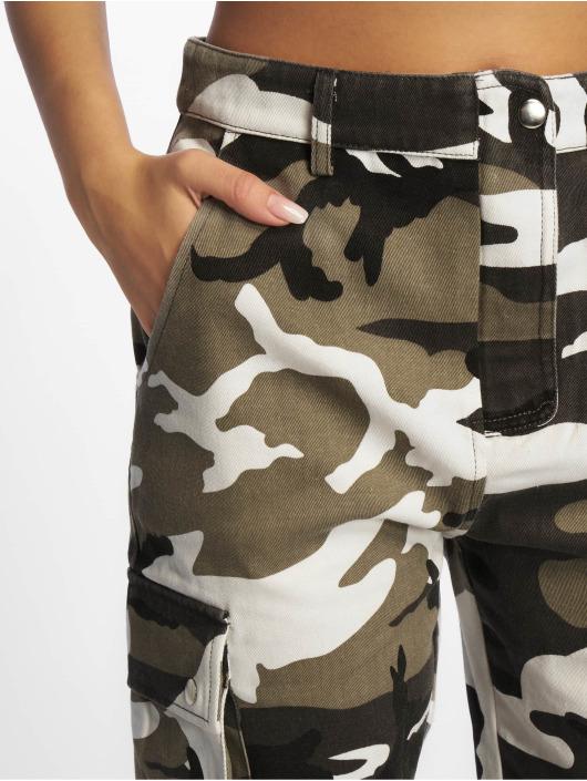 Missguided Spodnie Chino/Cargo Premium szary