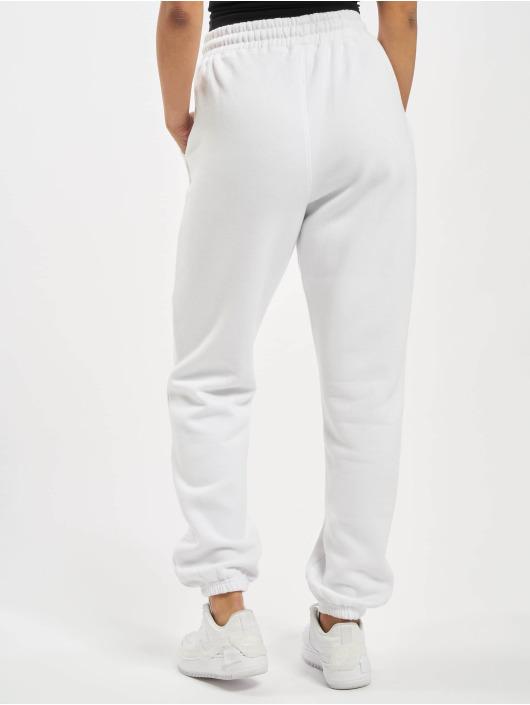 Missguided Spodnie do joggingu Co-Ord NYC bialy