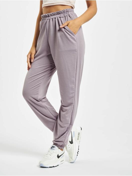 Missguided Spodnie do joggingu Petite Basic szary
