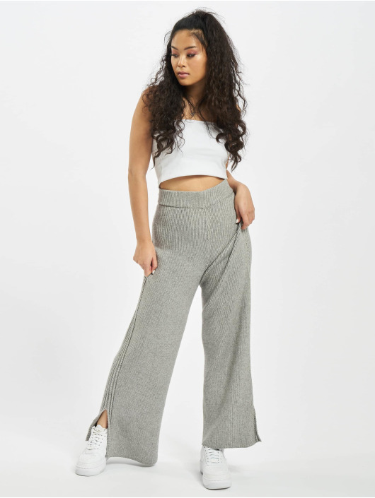 Missguided Spodnie do joggingu Co-Ord szary