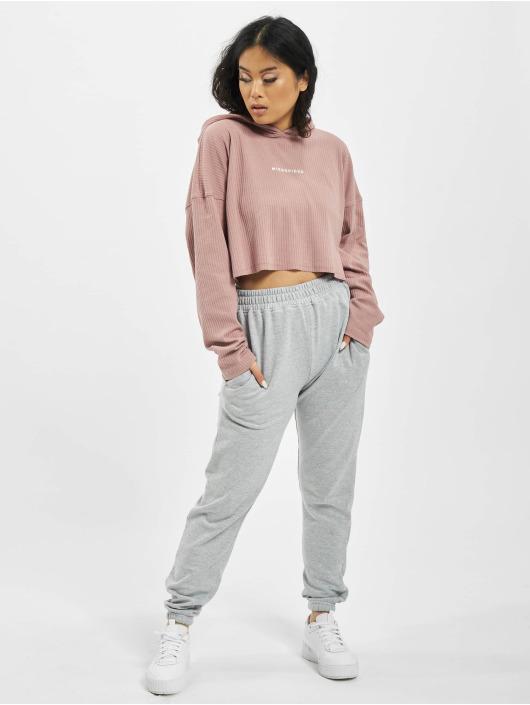 Missguided Spodnie do joggingu Petite Grey Marl Basic szary