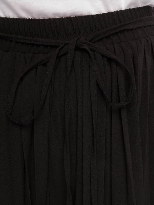 Missguided Spodnie wizytowe Pleated czarny