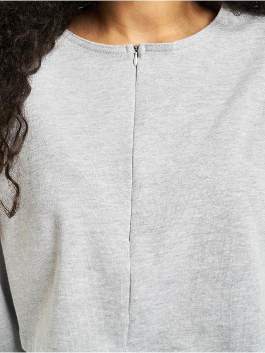 Missguided Suits Zip Crop grey