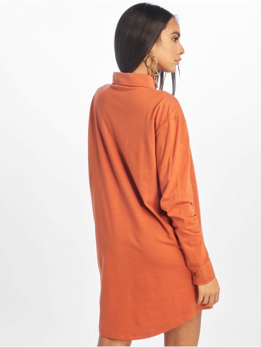 Missguided Sukienki Jersey brazowy