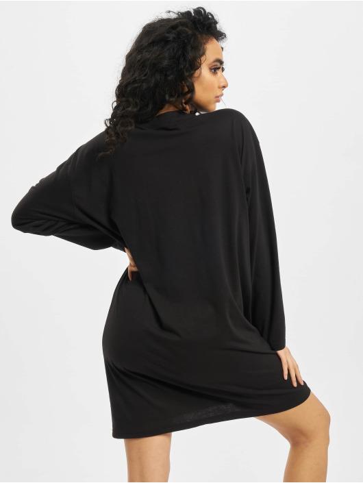 Missguided Sukienki Oversized  Astro Splatter czarny