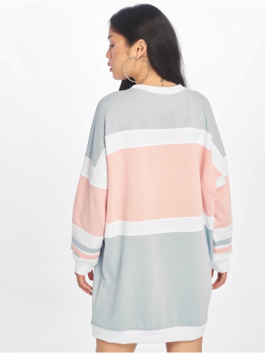 Missguided Sukienki Oversized Contrast Usa niebieski