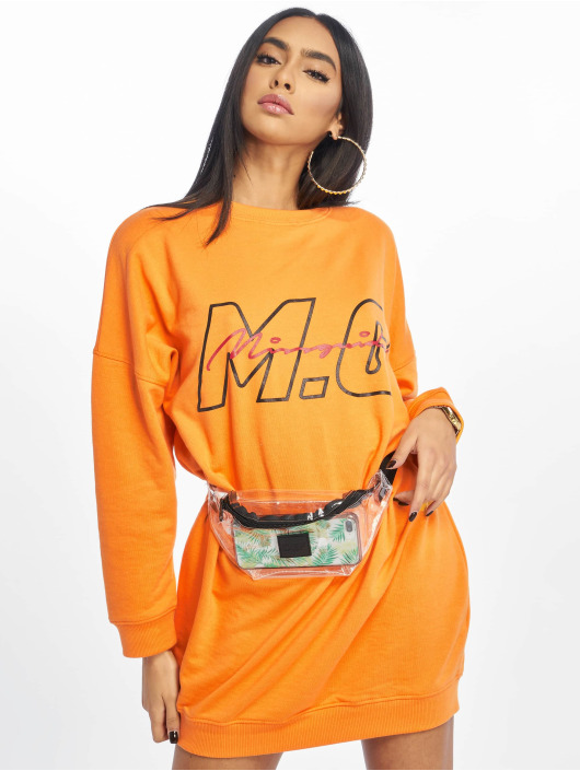 Missguided Sukienki Mg Signiture pomaranczowy