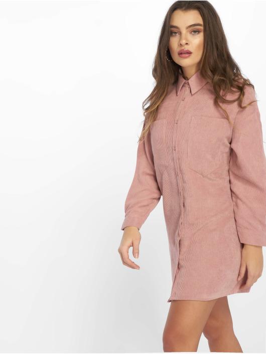 Missguided Sukienki Oversized rózowy