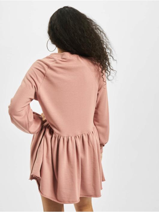 Missguided Sukienki Oversized Smock rózowy