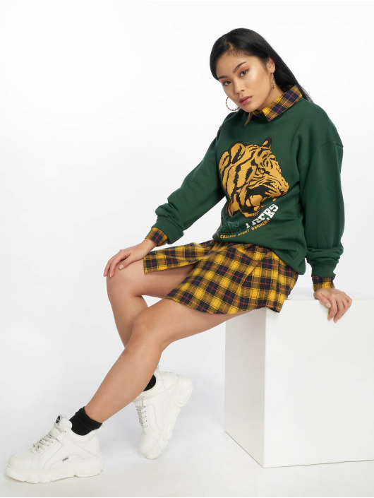 Missguided Svetry Tennessee Tigers Graphic zelený