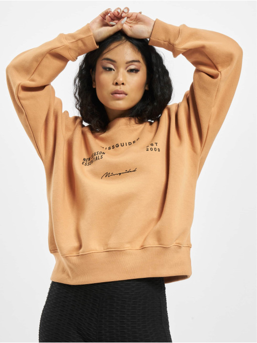 Missguided Sweat & Pull Oversize beige