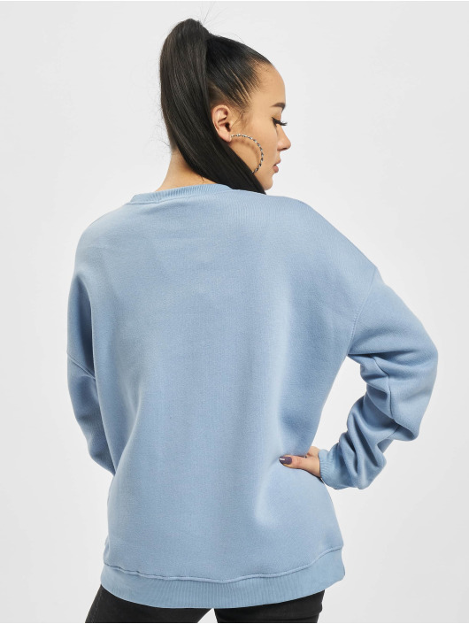 Missguided Sweat & Pull Basic Oversized bleu