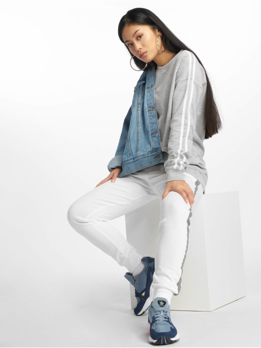 Missguided Sweat & Pull Stripe gris
