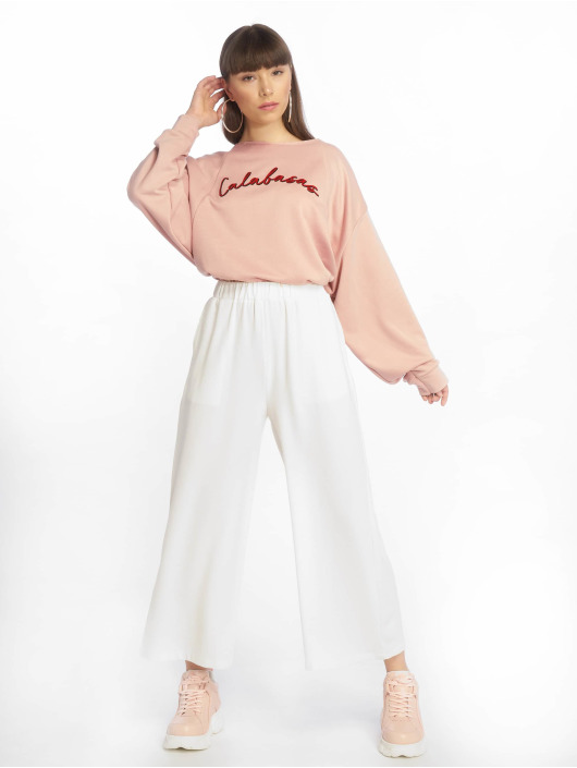 Missguided Sweat & Pull Calabasas Cropped rose