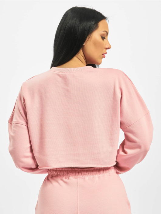 Missguided Sweat & Pull Playboy Longsleeve Lounge rose
