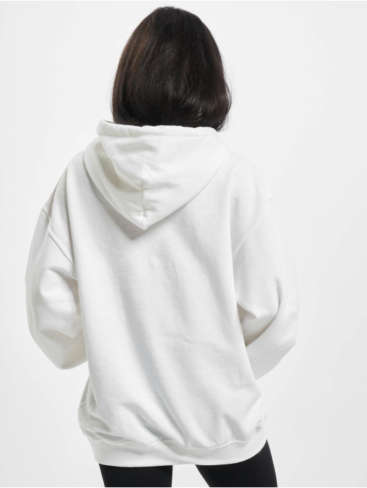 Missguided Sweat capuche Oversized blanc
