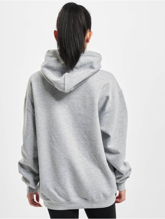 Missguided Sweat capuche Oversized gris