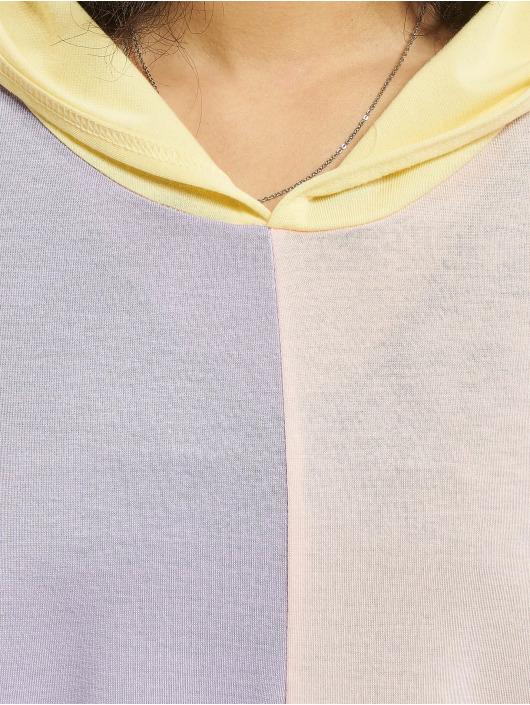 Missguided Sweat capuche 4 Way Colour Block Over Size multicolore