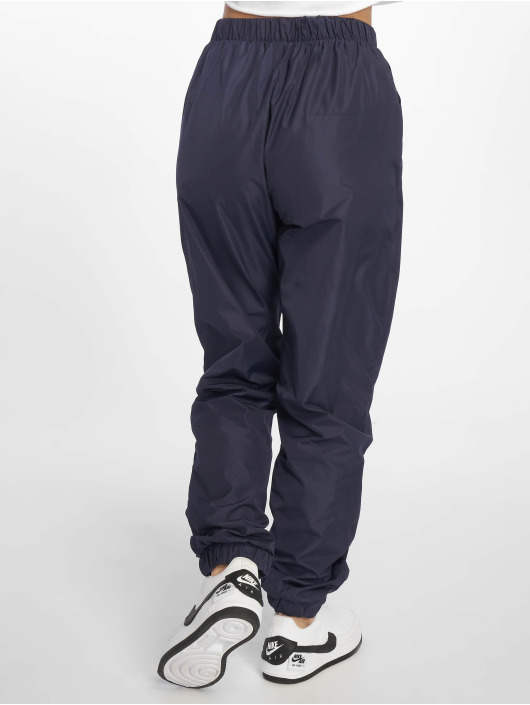 Missguided Sweat Pant Zip Front Shell blue