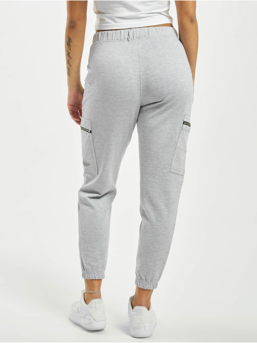 Missguided Sweat Pant Pocket Detail High Waist gray
