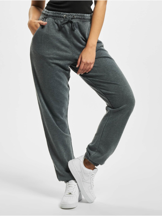 Missguided Sweat Pant Tall White Wash 90s grey