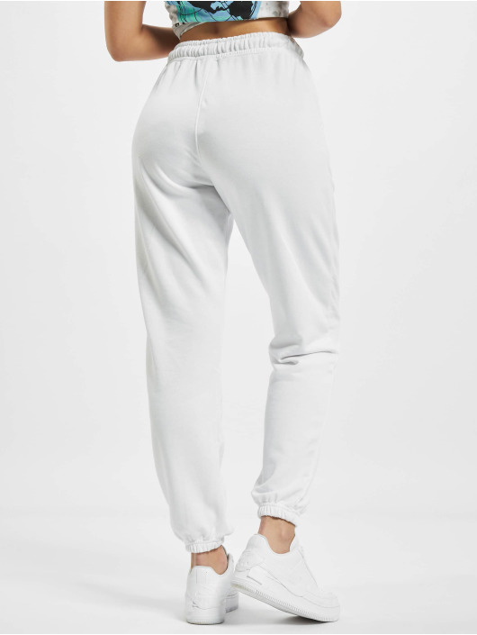 Missguided Sweat Pant 90s Oversized white