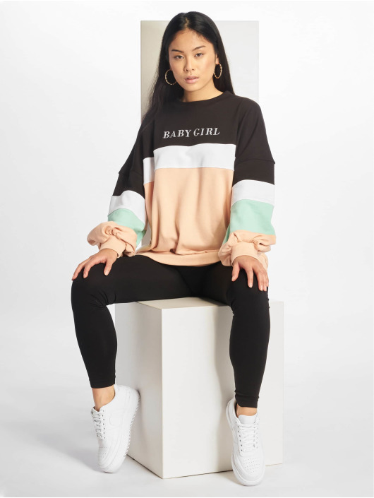 Missguided Swetry Baby Girl Colour Bloack czarny
