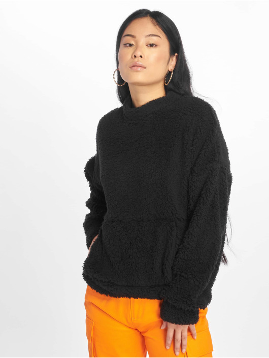 Missguided Swetry Pocket Front czarny