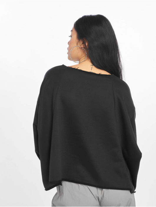 Missguided Swetry Calabasas Oversized Sweat czarny
