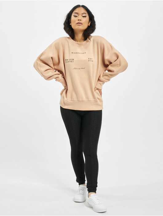 Missguided Swetry Oversize rózowy